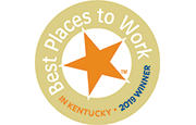 Best Places to Work in Kentucky - 2019 Winner
