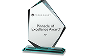 Press Ganey Pinnacle of Excellence Award