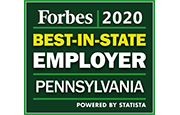 Forbes 2020 Best-in-State Employer Pennsylvania
